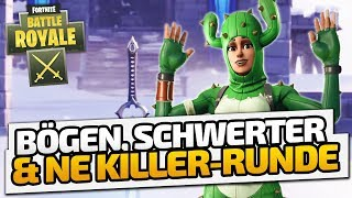 Bögen, Schwerter & ne Killer-Runde - ♠ Fortnite BR: Sword Fight ♠ - Dhalucard