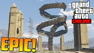 increble mega acrobacia imposible gameplay gta 5 online funny moments