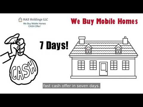 We Buy Mobile Homes - HAS Holdings LLC