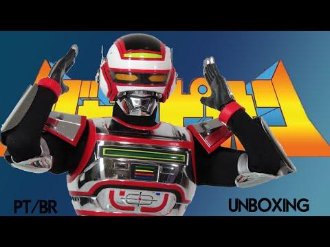 Caixa de Pandora #149 - O Fantástico Jaspion - Medicom - Escala 1/6 - Review