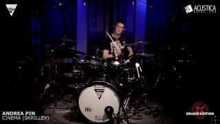 Andrea Pin - Cinema Skrillex - TGF Drums Contest 2013 - selezioni