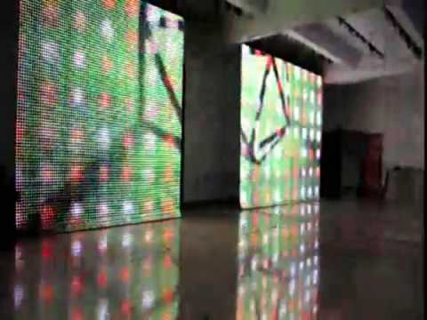 LED curtain screen A-solutions 3