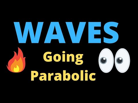 WAVES going Parabolic🔥🔥🔥WAVES crypto price prediction💲💲💲WAVES most bullish crypto chart now