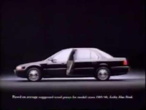 1991 Honda Accord Commercial Youtube