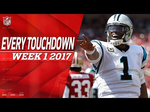 Every Touchdown from Week 1 | 2017 NFL Highlights