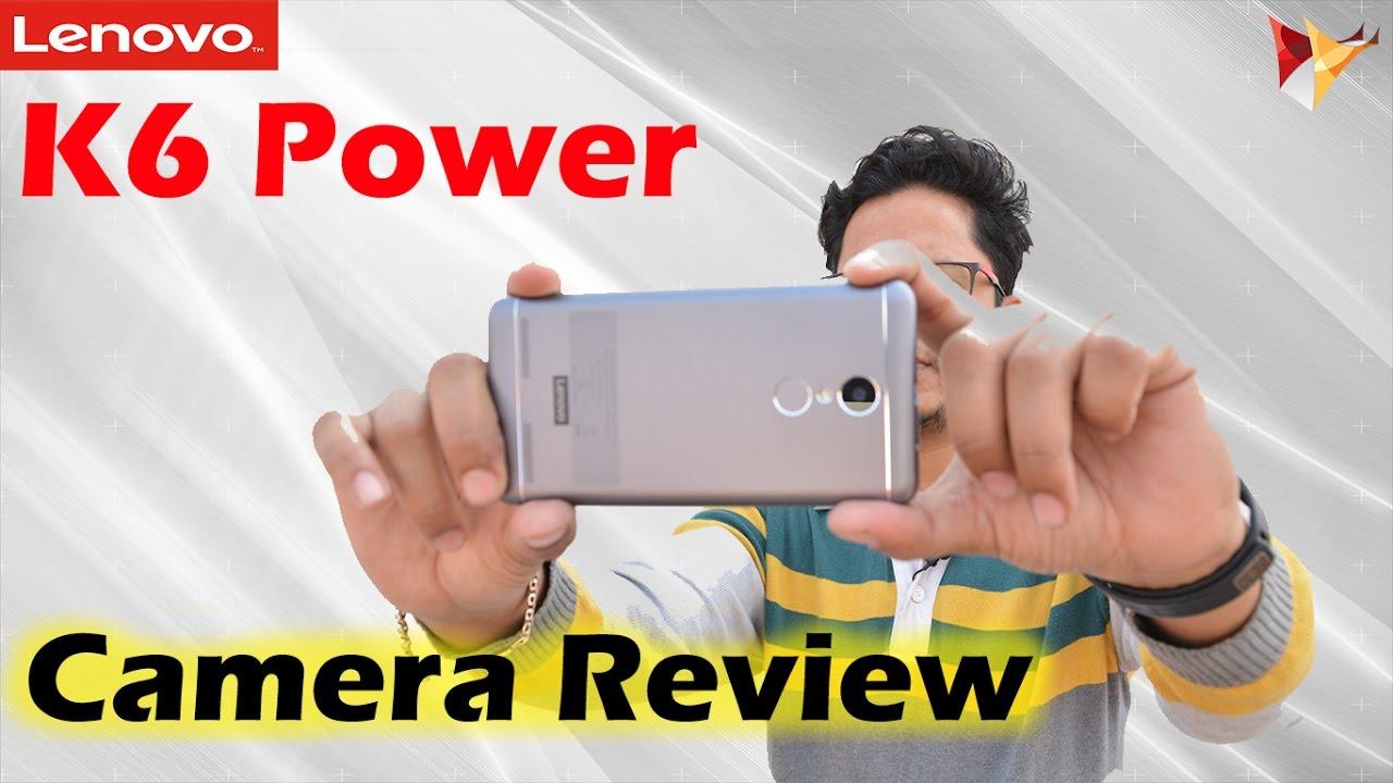 Lenovo K6 Power Detailed Camera Review | Data Dock