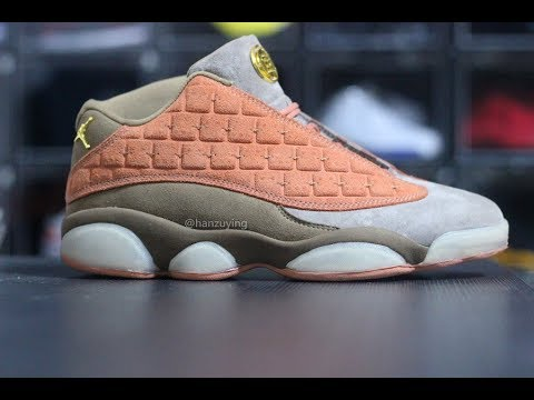 7c198624501 FIRST LOOK: CLOT X AIR JORDAN 13 LOW - YouTube