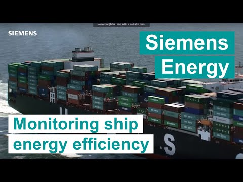 Siemens Marine - Monitoring ship energy efficiency with Simcenter