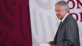 Aeronaves del Gobierno de México van a exhibición en Feria Aeroespacial. Conferencia presidente AMLO thumbnail