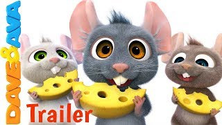 🚜 Farm Animals Song –Trailer | Animal Sounds | Baby Songs from Dave and Ava 🚜