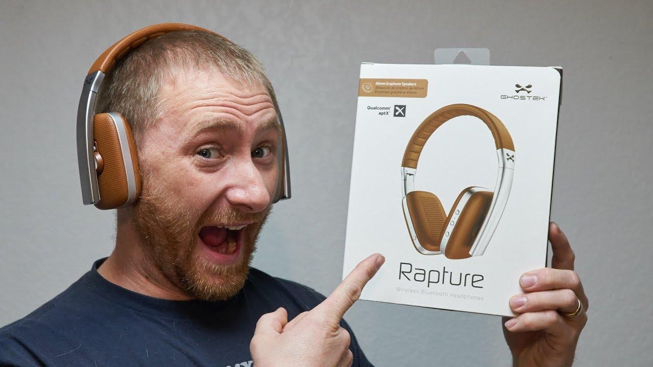 448be49cd85 Ghostek Rapture Wireless Headphones Review - YouTube