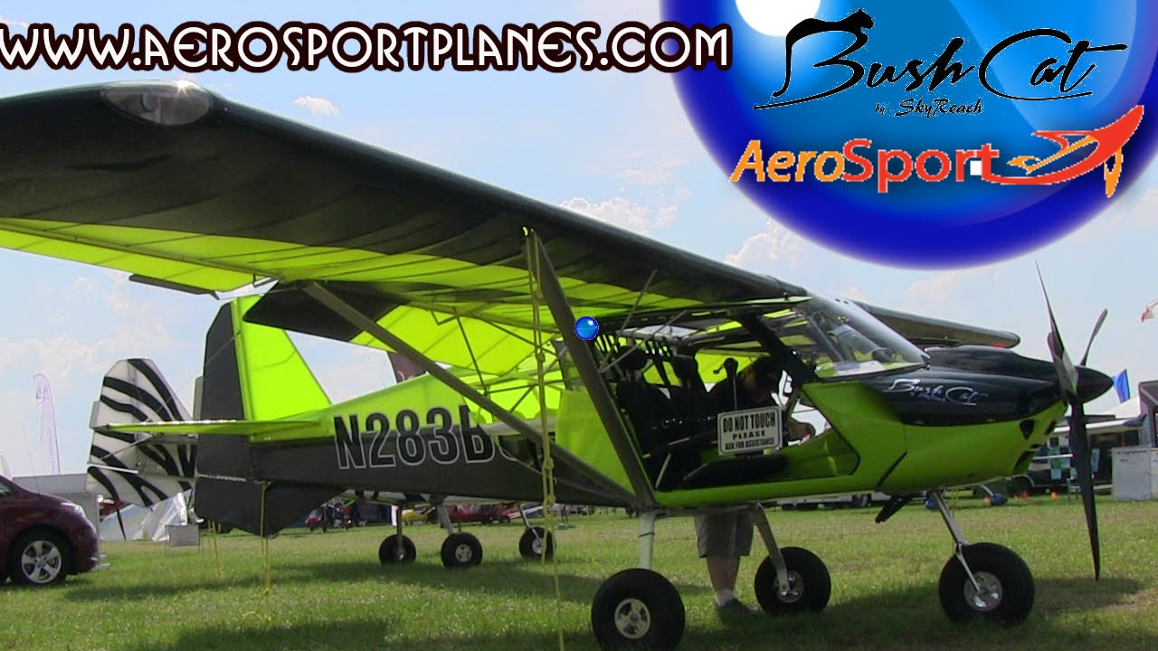 Bushcat light sport aircraft, by Skyreach - updated for 2015