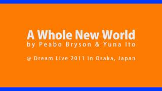 A Whole New World by Peabo Bryson & Yuna Ito (伊藤由奈)