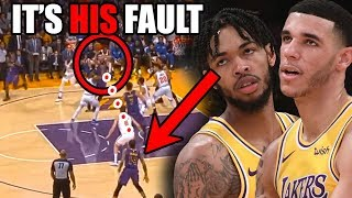 The REAL Reason Why The Lakers Are LOSING Without LeBron (Ft. Lonzo Ball & Bad Ingram NBA Shots)