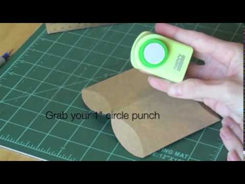 DIY Boxes  How to Make a Pillow Box Tutorial   handmade packaging, great for gifts and jewelry