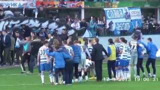 ФК Севастополь - Таврия 5-2. Кубок украины. Празднование победы