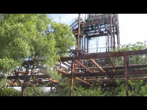Inside abondon Union Carbide factory in Bhopal
