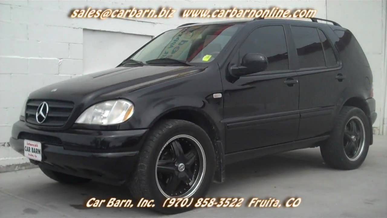 Sold 2001 mercedes benz ml320 at car barn in fruita co for 2001 mercedes benz ml320