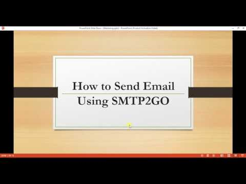 Send Email Using SMTP2GO | C# | Visual Studio.