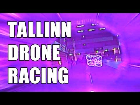 Estonian FPV Drone Racing Event in Tallinn