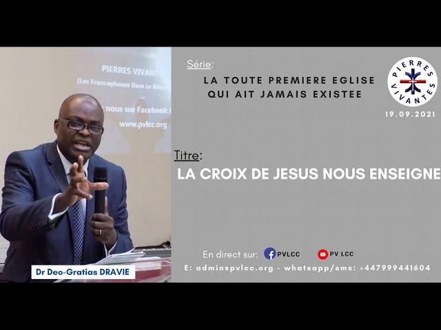 LA CROIX DE JESUS NOUS ENSEIGNE