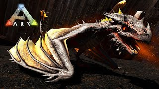 ARK: Survival Evolved - FIRE DRAGON WYVERN BABY!! (ARK Ragnarok Gameplay)