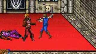 Double Dragon Advance Final Mission and Boss