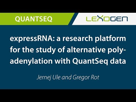 expressRNA: a research platform for the study of alternative polyadenylation with QuantSeq data