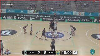 U16M - Semifinal JOVENTUT vs CAJASIETE. Cpto. España Cadete masc. FEB-San Fernando (Cádiz) 2021