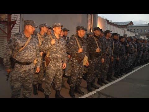 Тамбовские полицейские без потерь вернулись с годовой вахты в Чеченской Республике