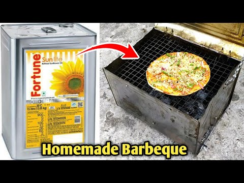 how to make barbeque at home   homemade barbeque grill