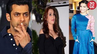 Salman Khan Leaves Iulia Half Way & Why? | Sonam Kapoor Shares Beau Anand's Photo