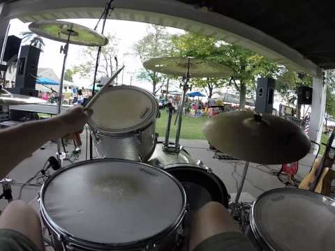 Moby Dick - Led Zeppelin (full band cover) Drum Cam