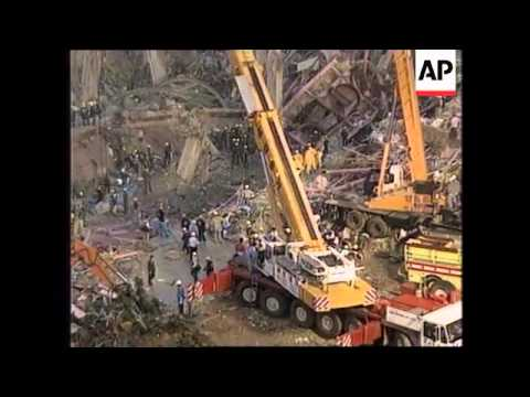 SOUTH KOREA: SEOUL: DEPARTMENT STORE COLLAPSE: 1ST ANNIVERSARY