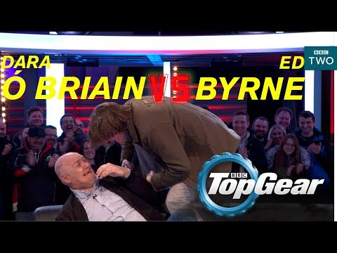 Dara Ó Briain VS Ed Byrne on the Top Gear track - BBC Two