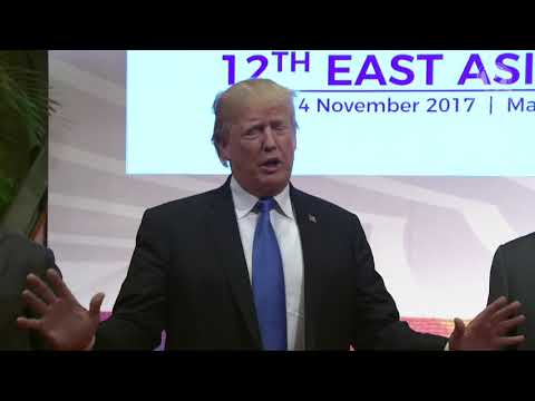 ASEAN 2017: Trump speaks to media before East Asia Summit