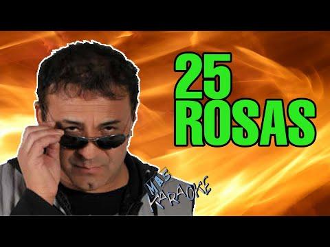 CHEBERE - 25 ROSAS (KARAOKE)