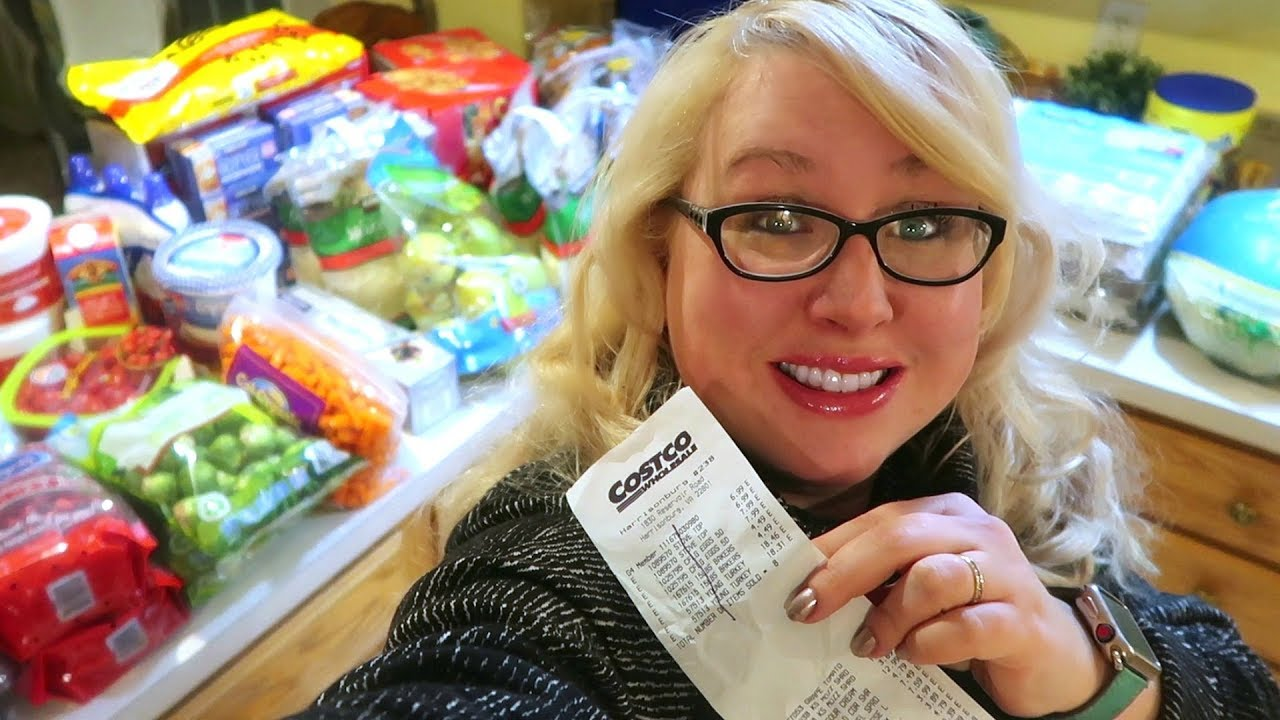 5cbf73fc9a1 🦃 It s a Very COSTCO Thanksgiving Haul 🛒LARGE Family Grocery ...
