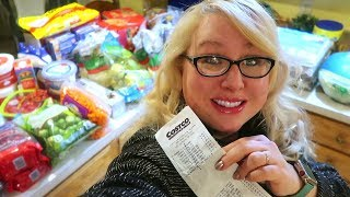 🦃 It's a Very COSTCO Thanksgiving Haul 🛒LARGE Family Grocery Shopping 💸