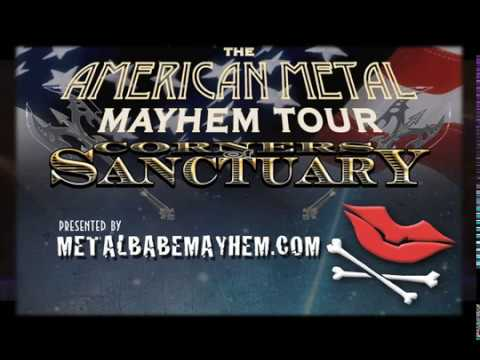 "Corners of Sanctuary ""American Metal Mayhem Tour 2017 Promo"""