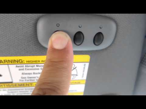 Ford Vehicle Garage Door Opener How to Program F150 Truck and Other Vehicles