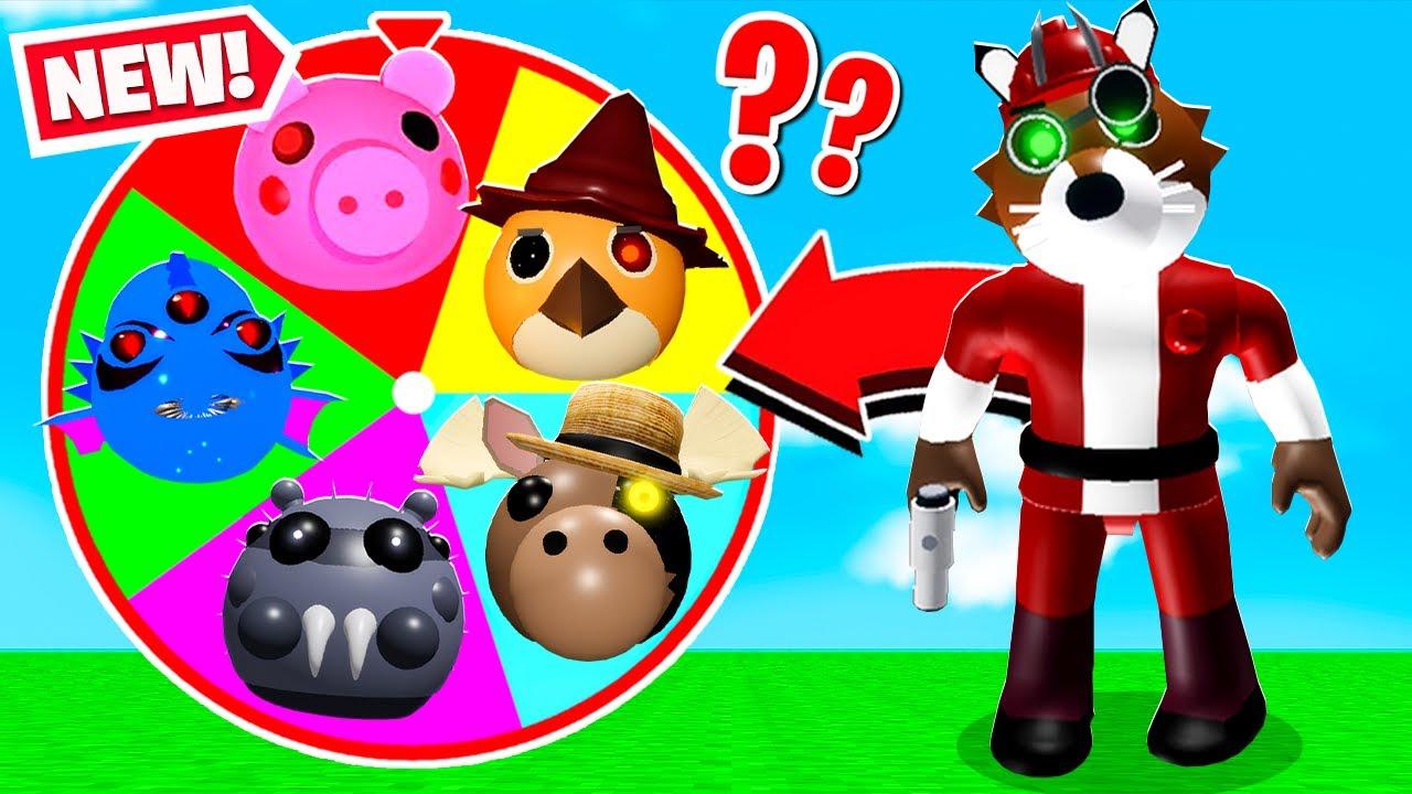 ROBLOX PIGGY RANDOM MAPS & SKIN CHALLENGE! (Part 22)