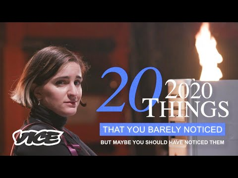 20 Things You May Have Missed in 2020
