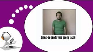 Французского видео урок = Жесты и выражения, № 7