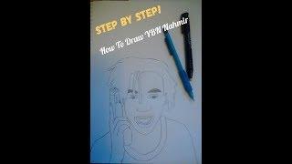 How to draw YBN Nahmir (step by step)