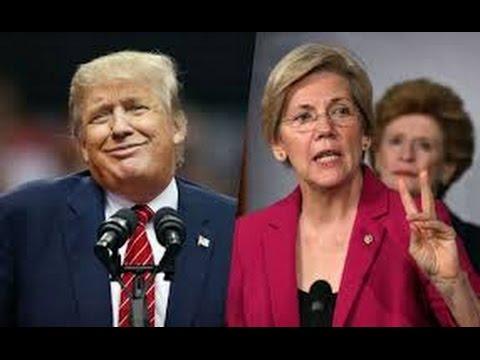 Elizabeth Warren Shuts Donald Trump Down