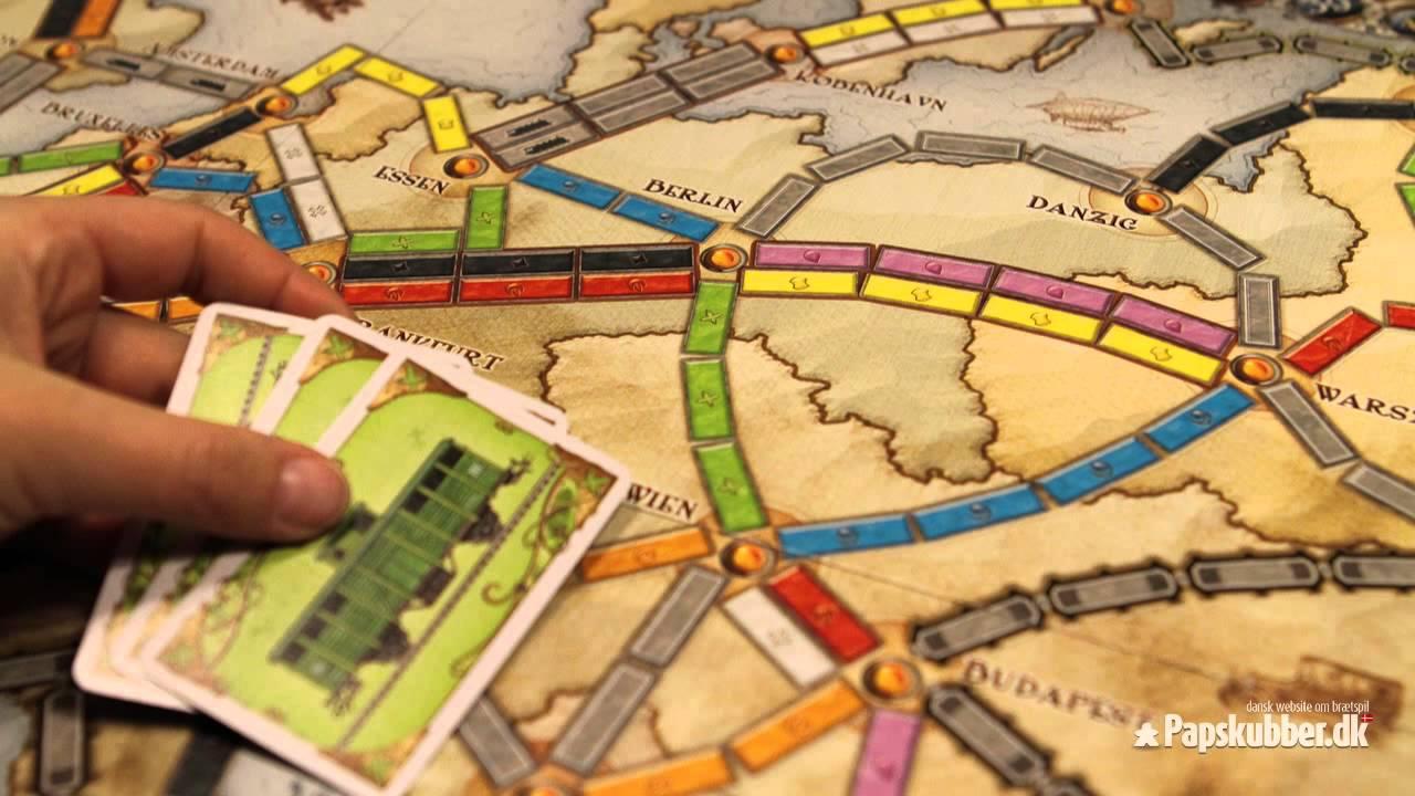 ticket to ride brætspil