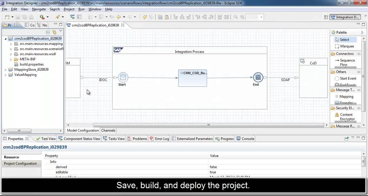 SAP Hana Cloud Integration - SAP Customer OnDemand to on premise SAP CRM