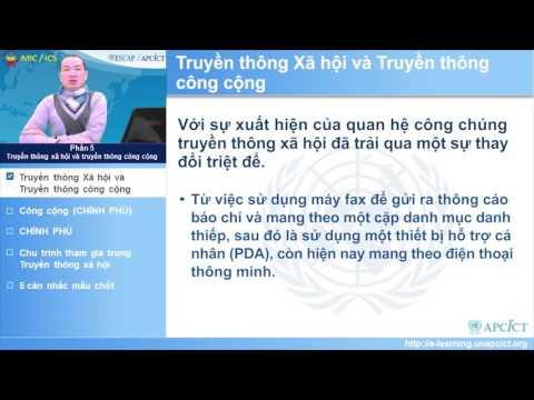 Vietnamese - Module 11 : Social Media for Development - Session 5