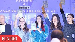 UNCUT - (un)Happier Shaheen Bhatt's Debut Book Launch | Alia Bhatt, Pooja Bhatt, Mahesh Bhatt
